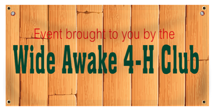 4H Banner Idea | LawnSigns.com