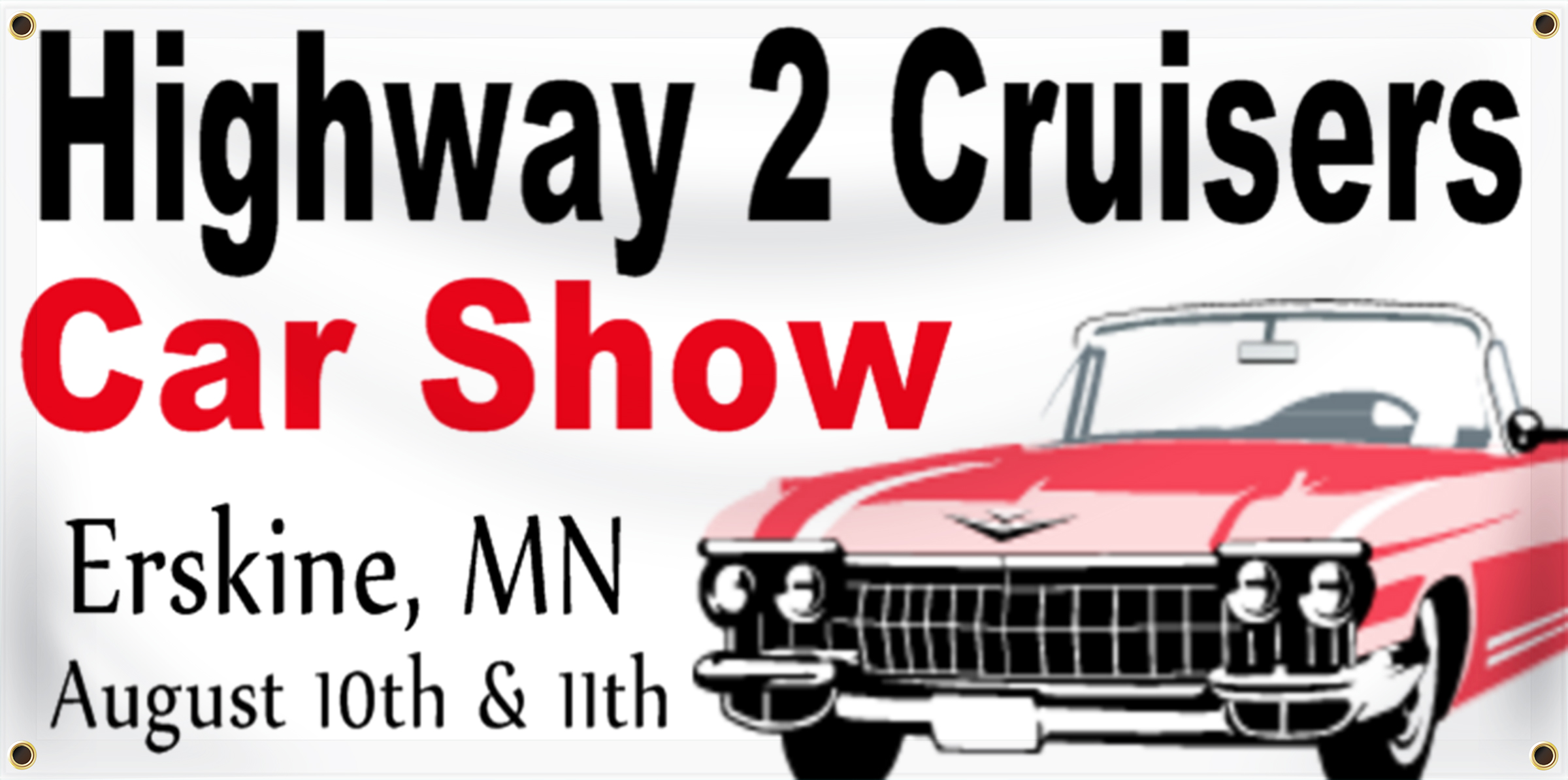 Car Show Banner Ideas | LawnSigns.com