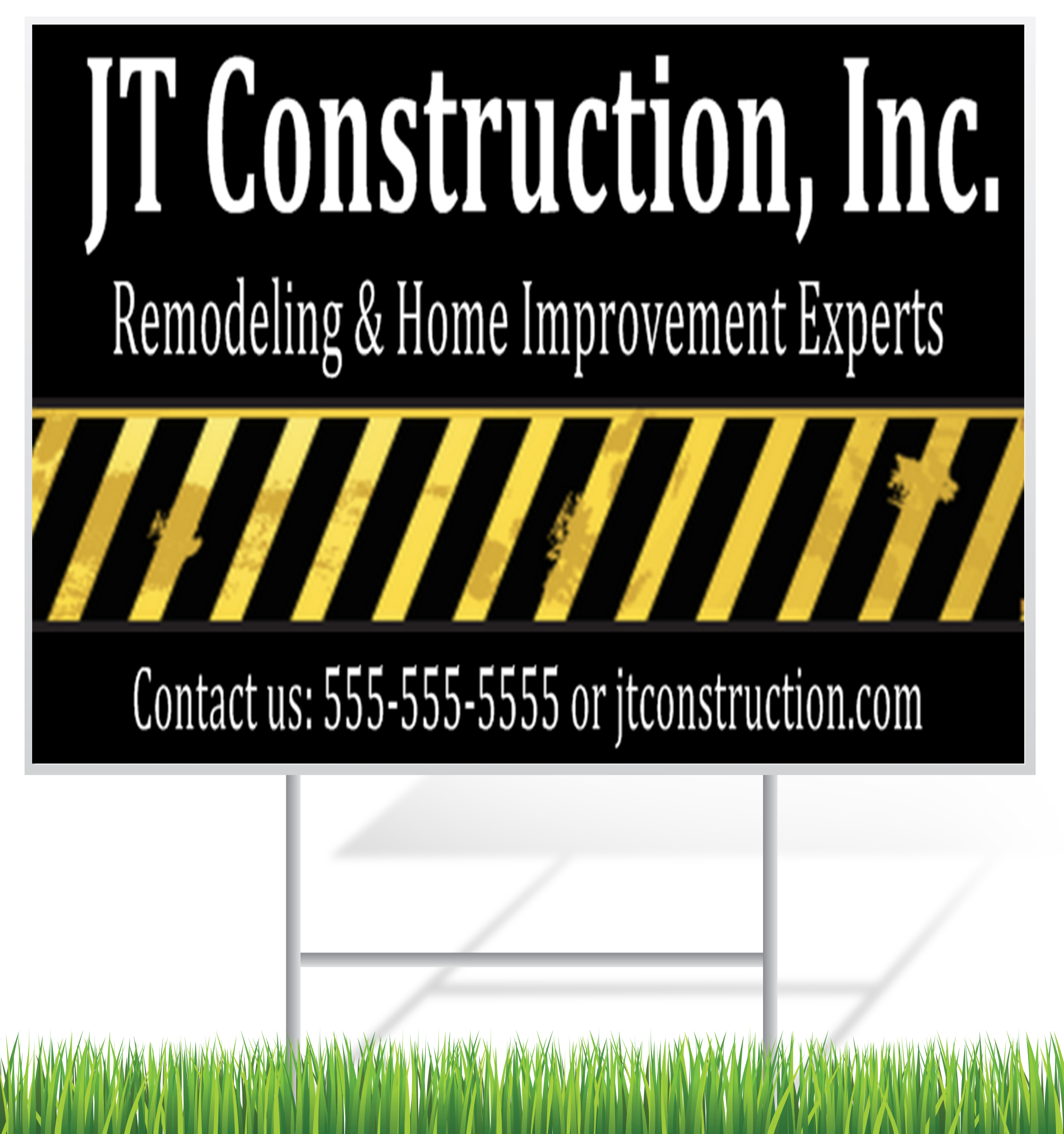 Construction Lawn Signs | LawnSigns.com