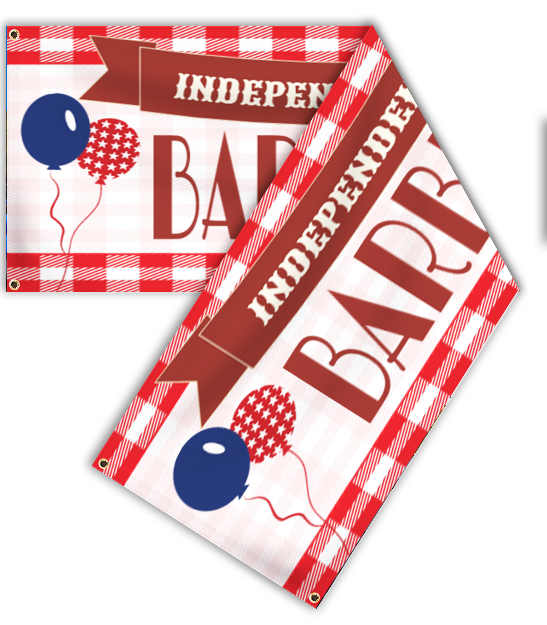 Double Sided Holiday Banners | LawnSigns.com