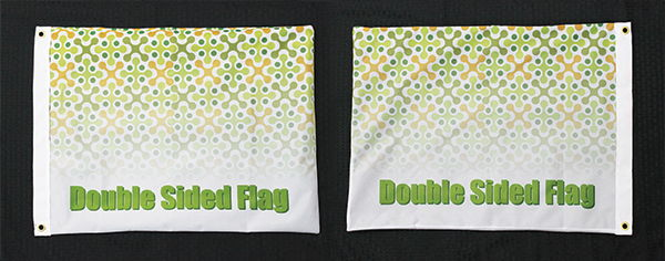 Double Sided Flags | LawnSigns.com