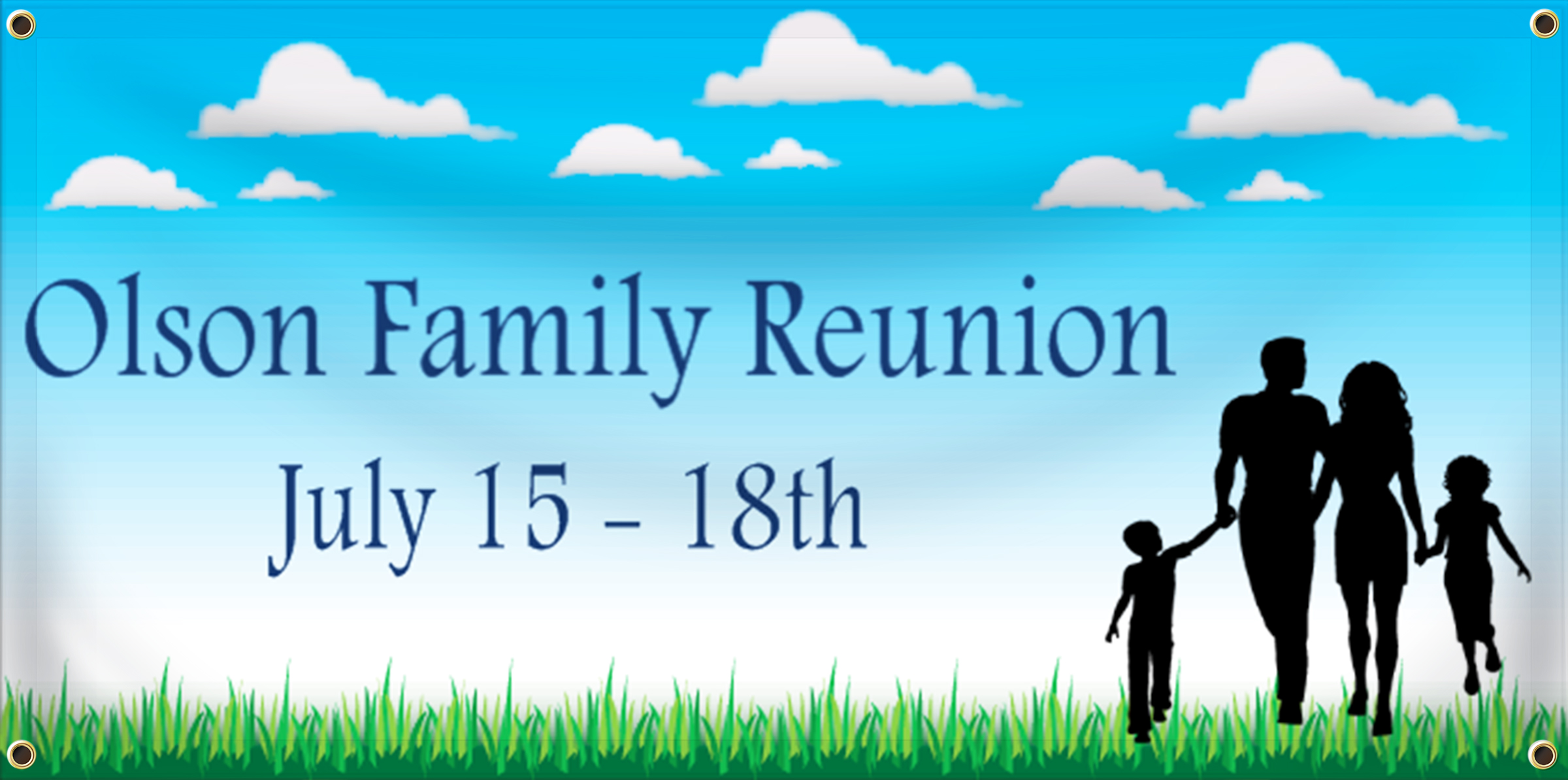 Family Reunion Banner Ideas | LawnSigns.com