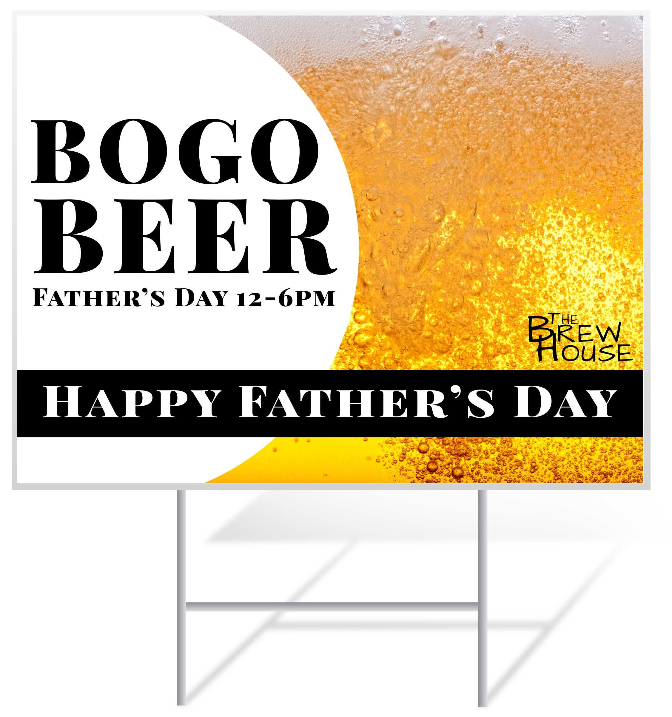 Father's Day Lawn Sign Example | LawnSigns.com