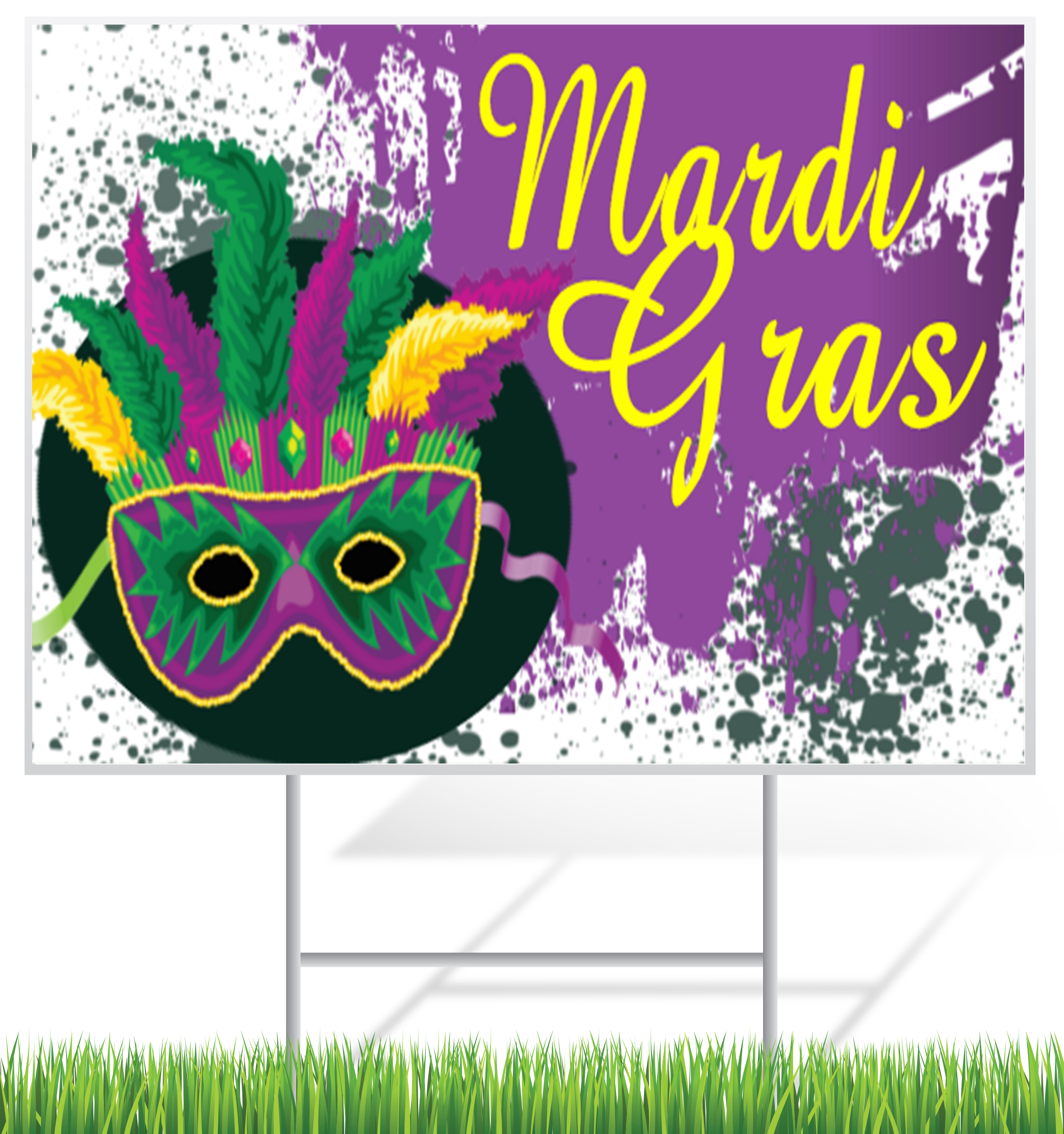 Spring Holiday Lawn Sign Example | LawnSigns.com