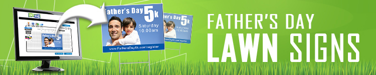 Father's Day Lawn Signs | LawnSigns.com