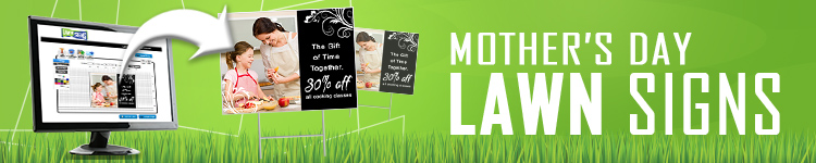Mother's Day Lawn Signs | LawnSigns.com