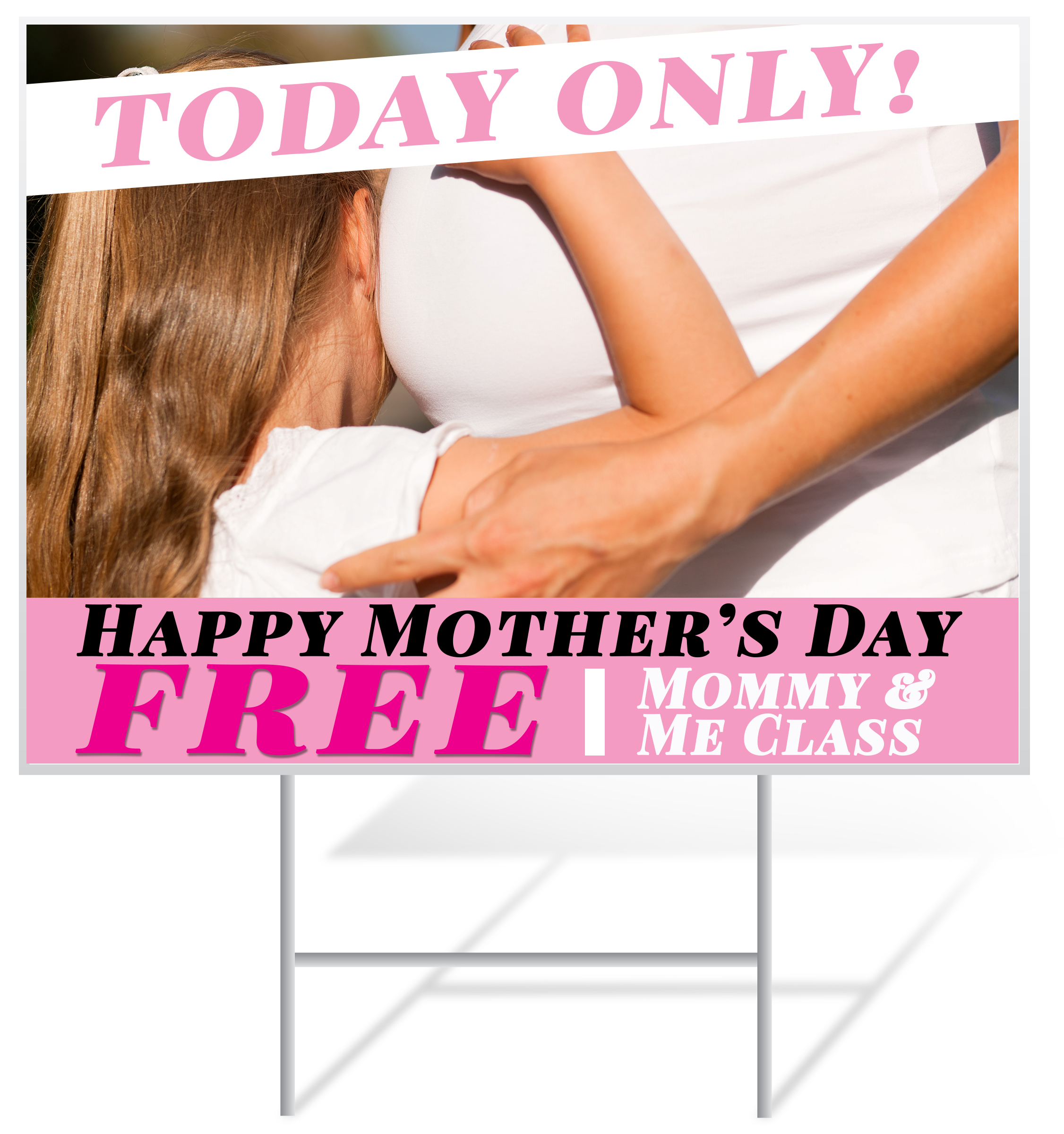 Mother's Day Lawn Sign Example | LawnSigns.com
