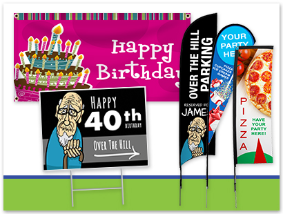 Birthday Signage Ideas | LawnSigns.com