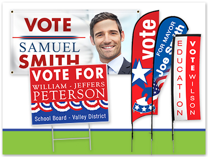 Campaign Signage Ideas | LawnSigns.com