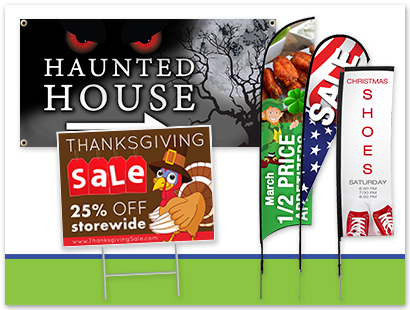 Holiday Signage Ideas | LawnSigns.com