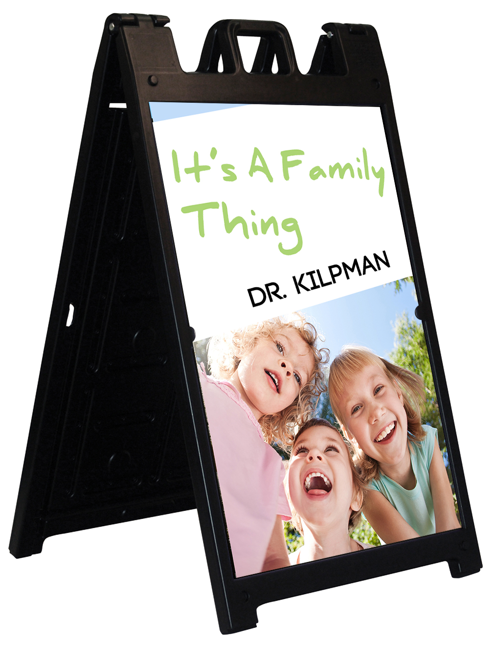 Convention A-Frame Signs | LawnSigns.com