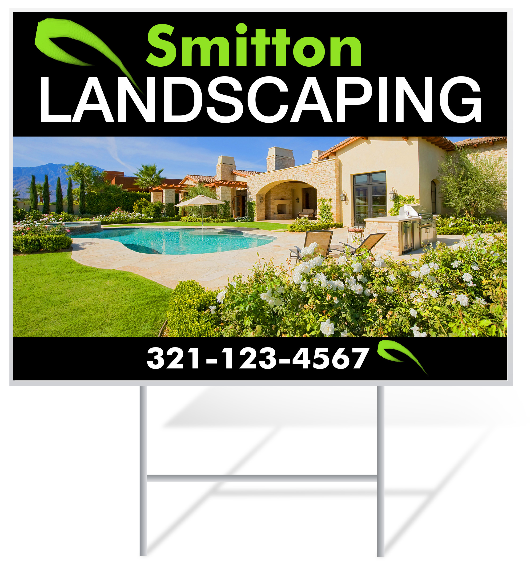 Landscaping Lawn Signs | Lawnsigns.com