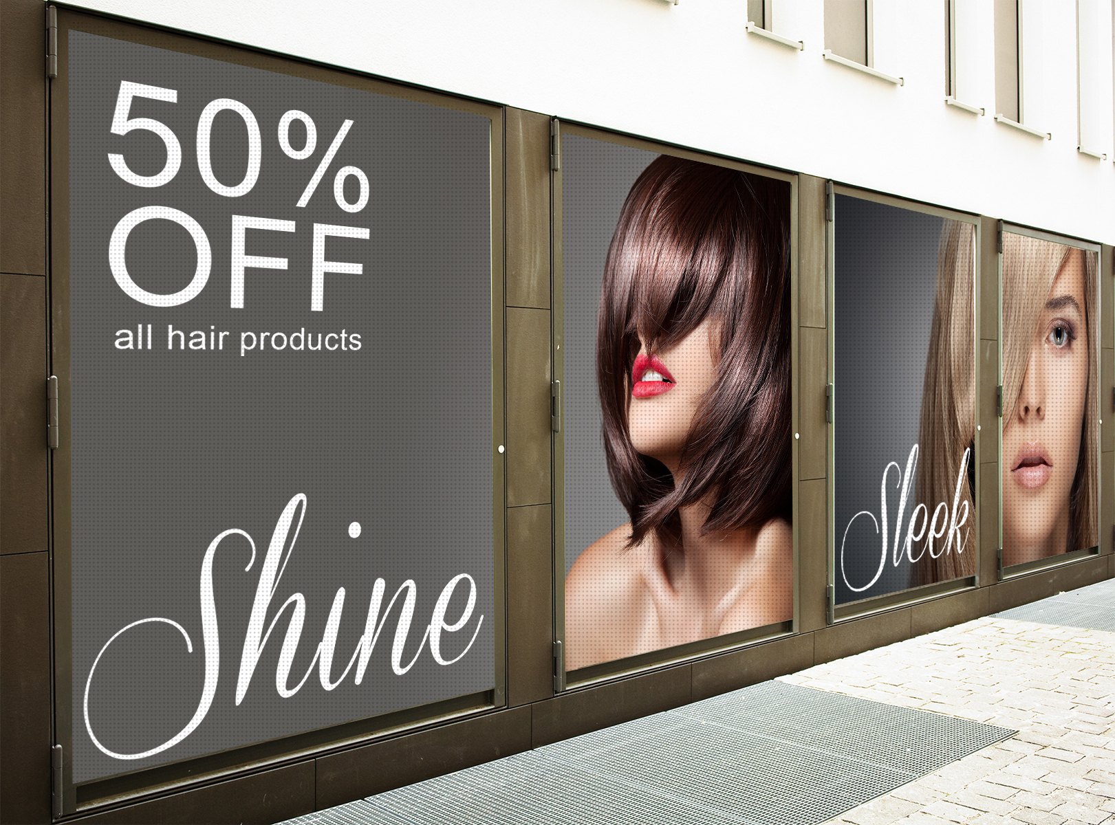 Window Perf Sale Signage Ideas | LawnSigns.com