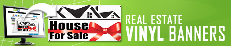 Real Estate Vinyl Banners | LawnSigns.com