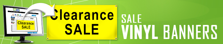 Sale Vinyl Banners | LawnSigns.com