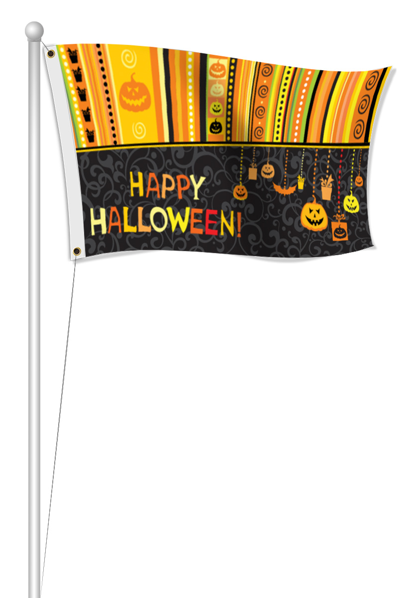 Fabric Holiday Flags | LawnSigns.com